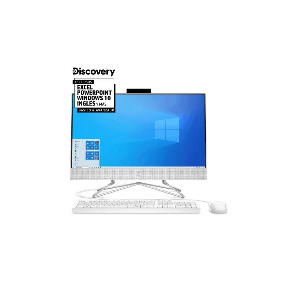 Computador Todo En Uno Hp Intel 4Gb 1Tb Win 21.5 Hd Blanco
