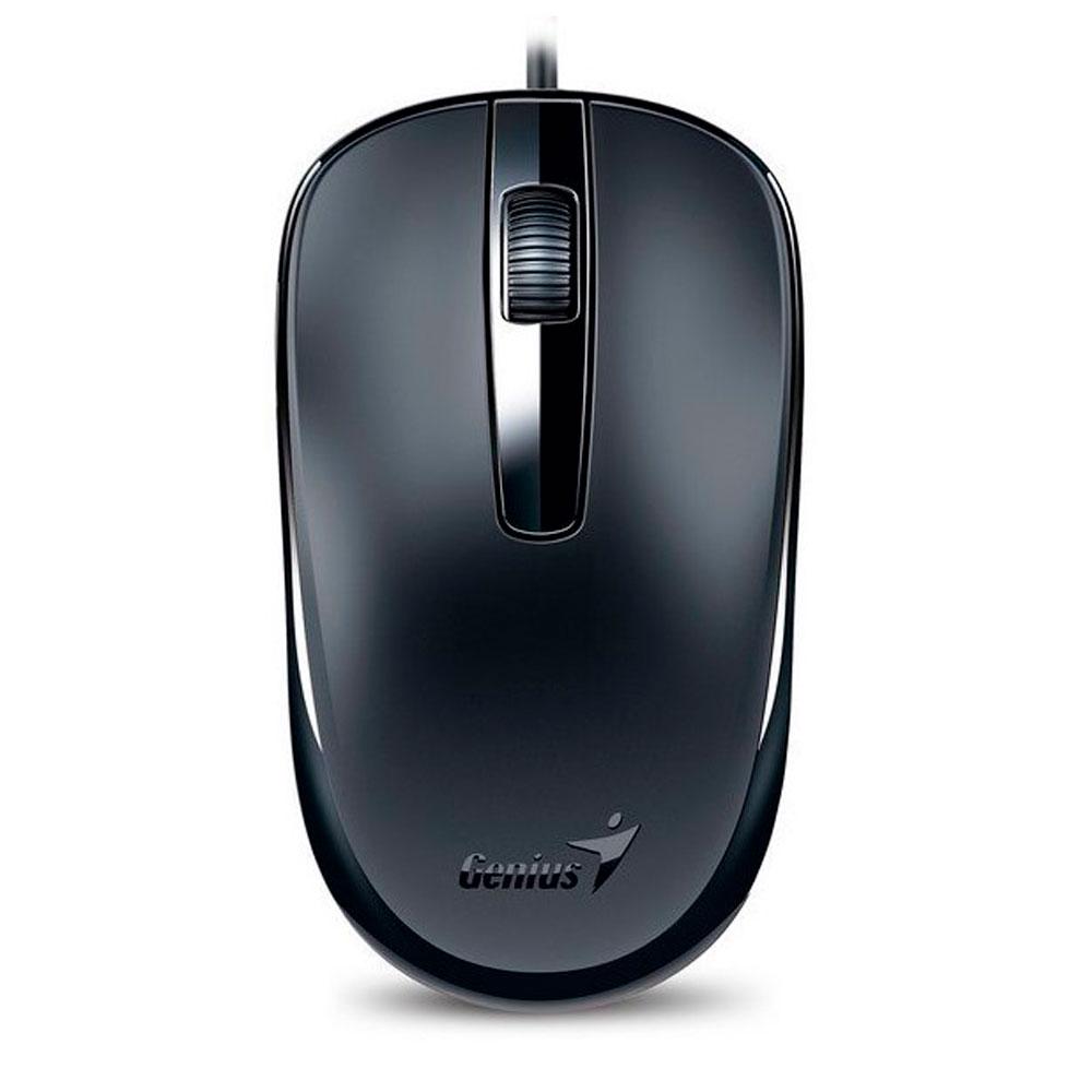 Mouse Genius Dx-120 Usb 1200 Dpi 3 Botones Negro