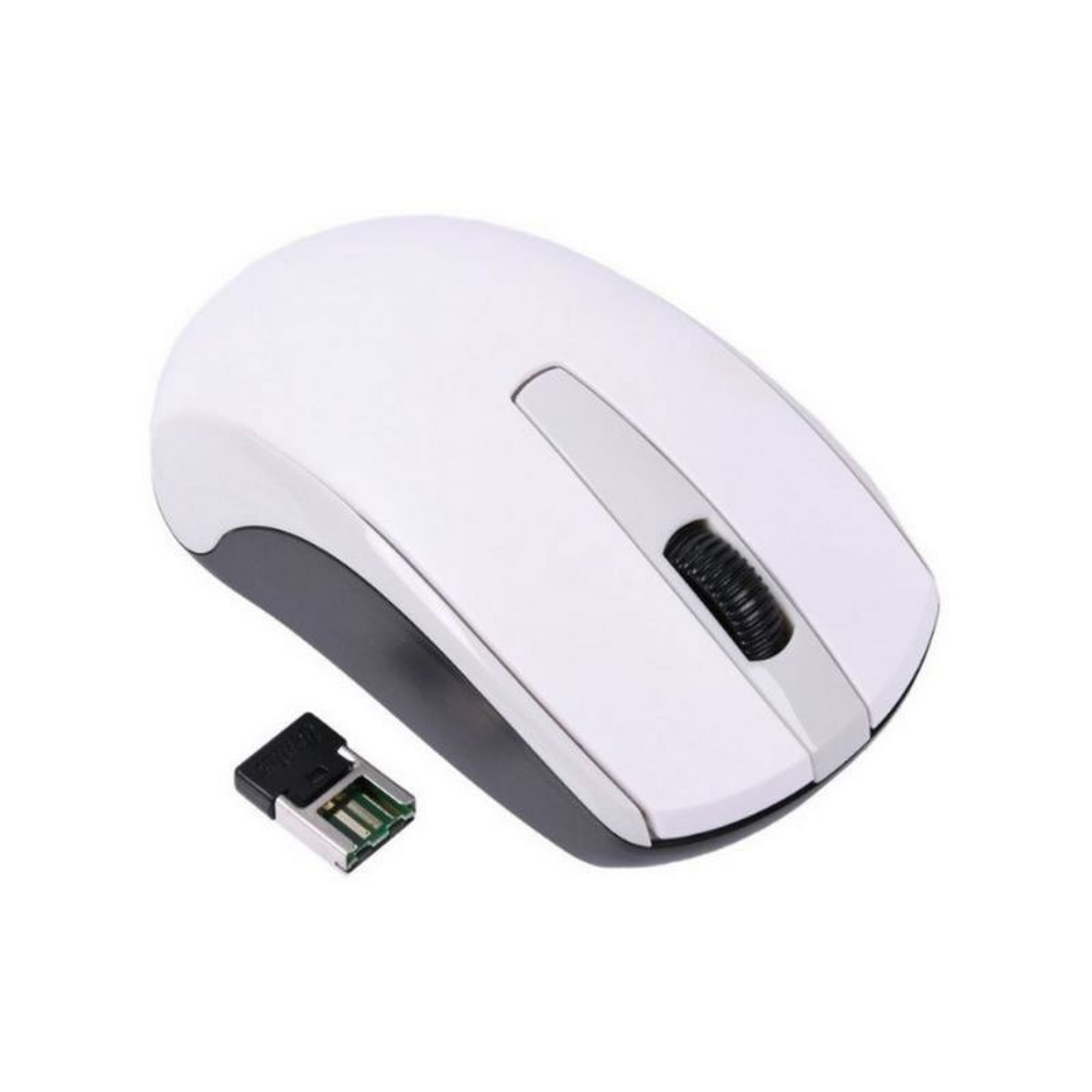 Mouse Genius Eco-8100 inalambrico BLANCO