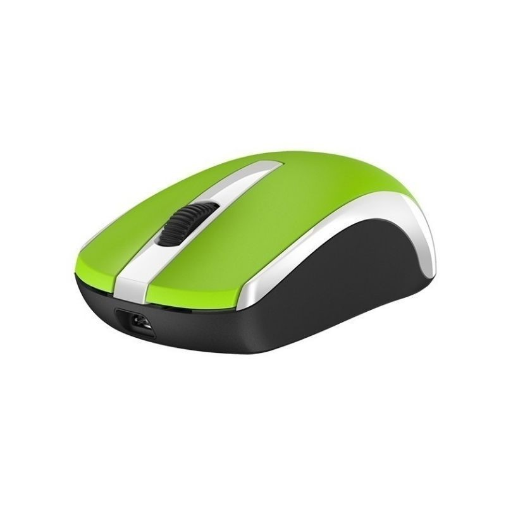 Mouse Genius Eco-8100 inalambrico VERDE