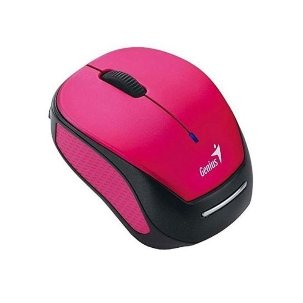 Mouse Genius Micro traveler 9000r v3 inalambrico Rosado