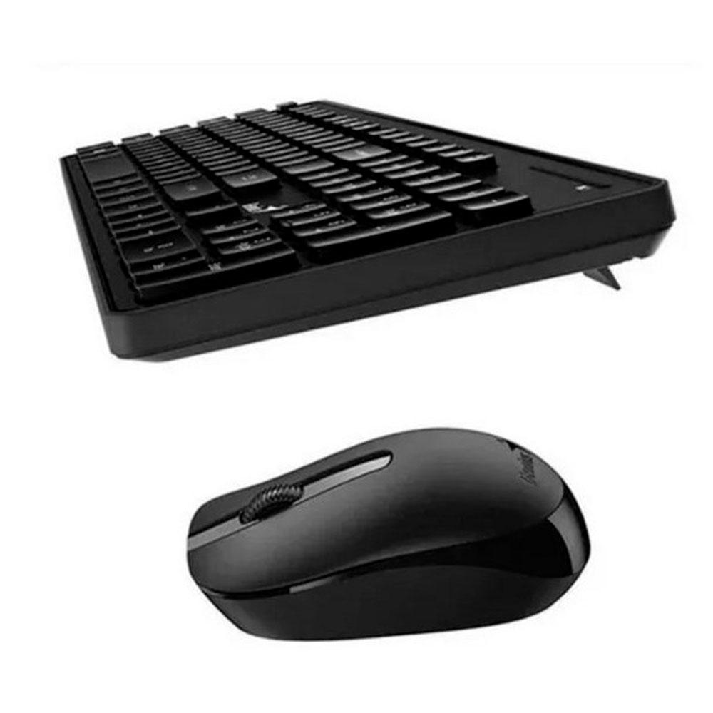 Combo Teclado Y Mouse Inlambrico Genisu Smart Km-8200