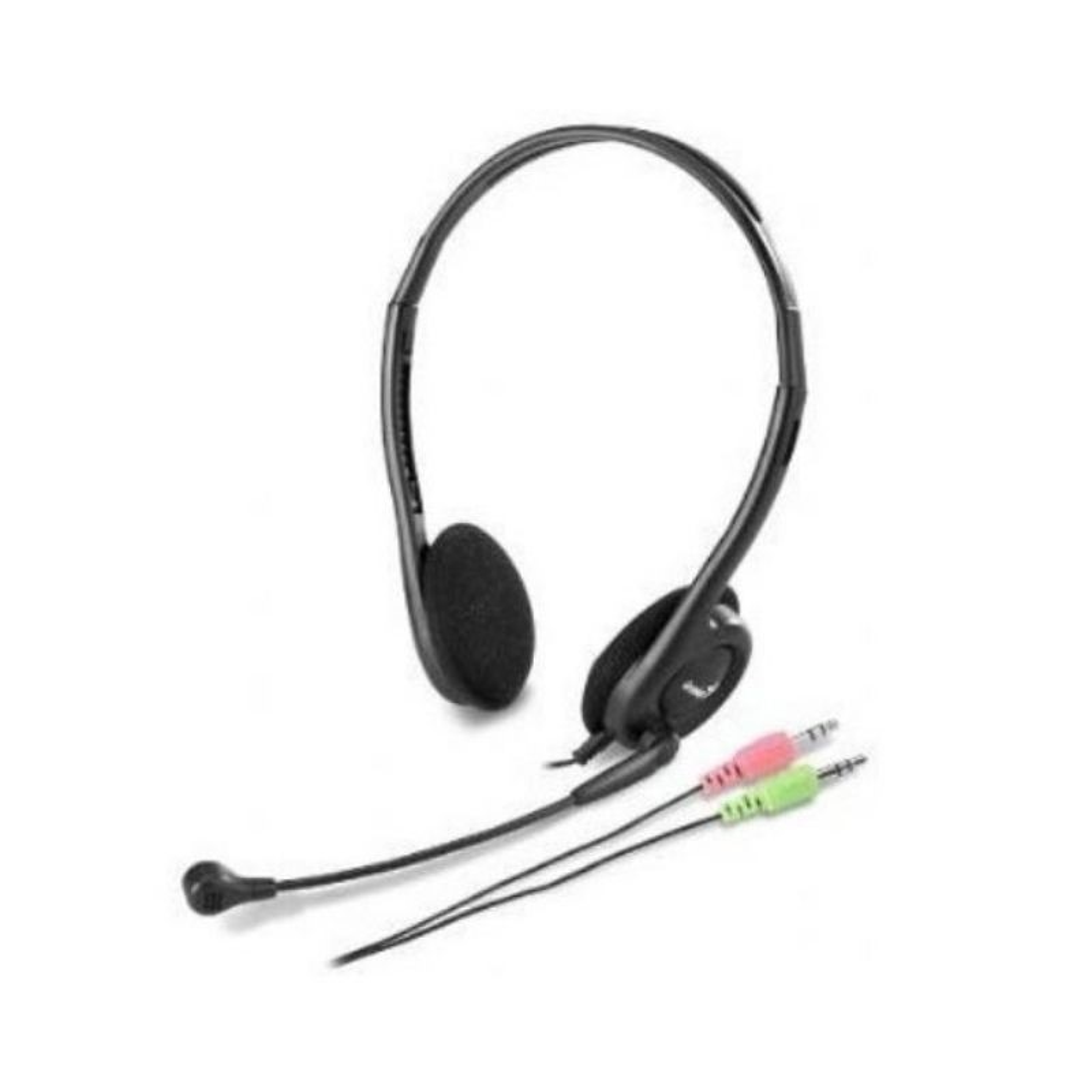 Audifono Diadema Genius HS-200C 2 Plug 3.5mm Negro