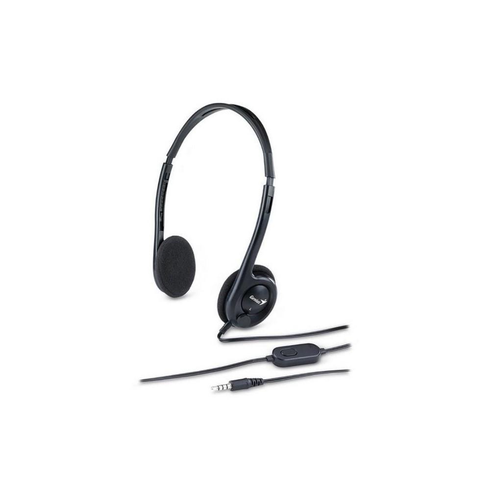 Audifono Diadema Genius HS-M200C 1 Plug 3.5mm Negro