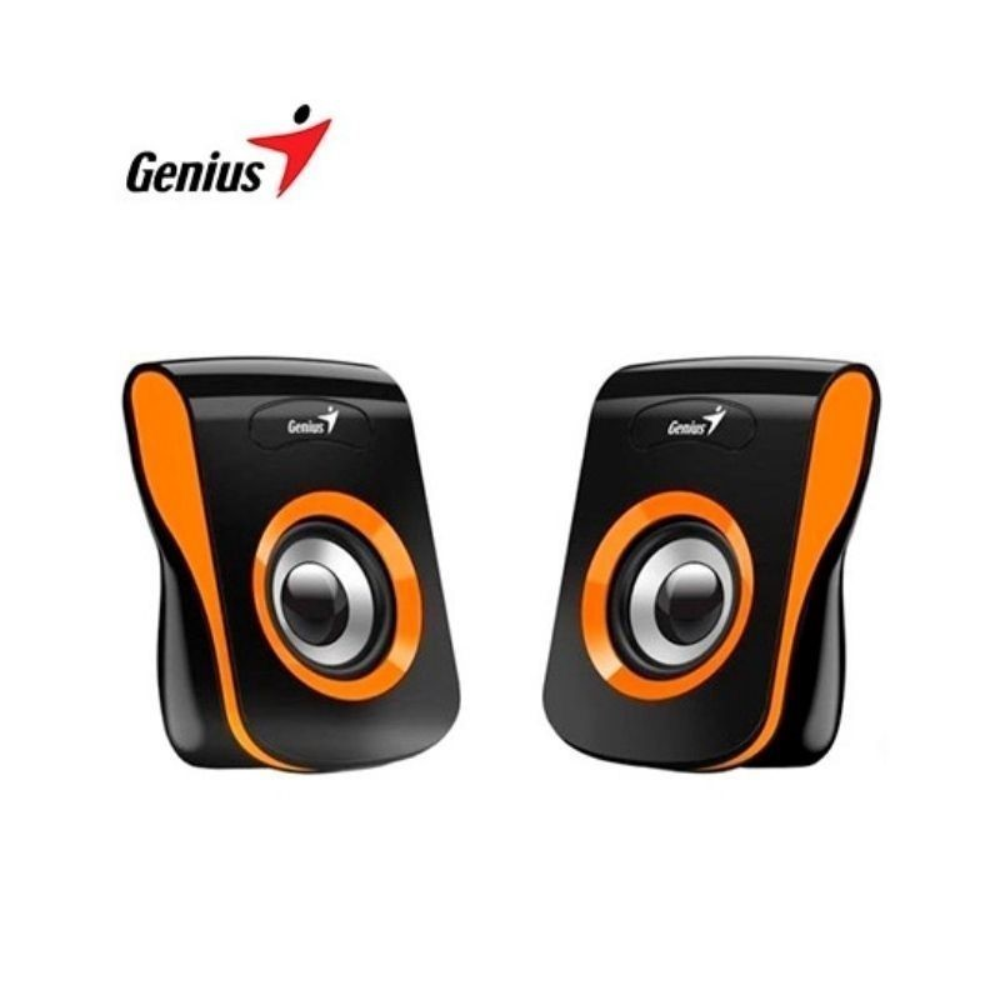 Parlante Genius SP-Q180 USB Naranja