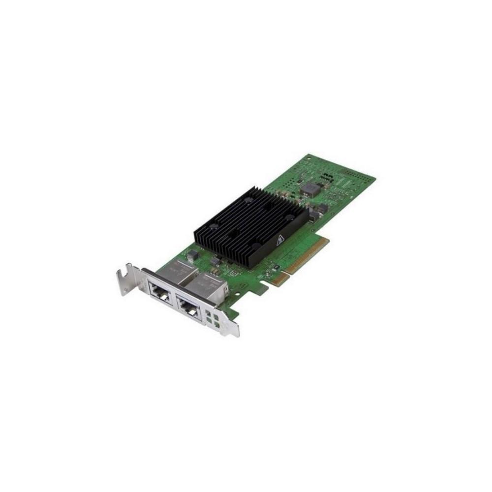 Tarjeta de red Broadcom 57416 Dual Port 10Gb, Base-T, PCIe Adapter, Low Profile, Customer Install