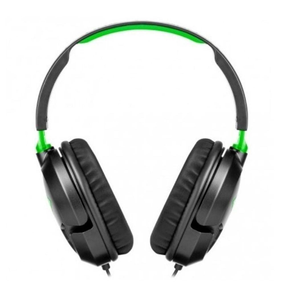 Audífonos Gaming Alámbricos de diadema con micrófono, Turtle Beach Recon, para XBONE Ear Force Recon 50X, Color Negro, Jack 3.5mm
