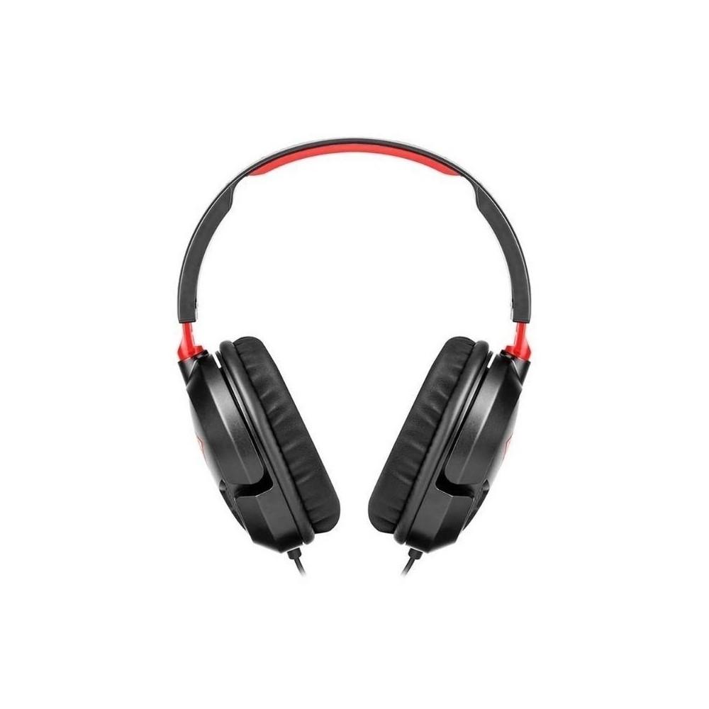Audífonos Gaming alambricos de diadema con micrófono, para PC, Turtle Beach Recon, PC Ear Force Recon 50, Color Negro, Plug 3.5mm