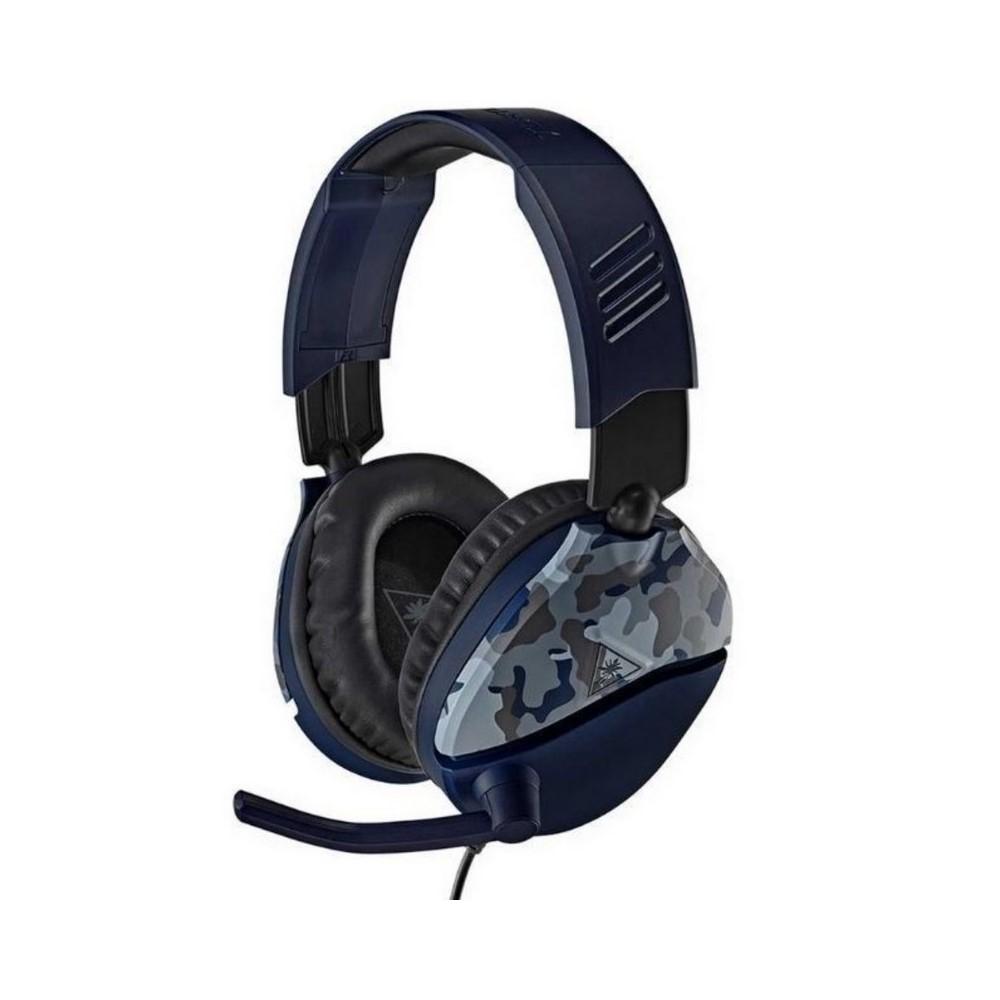 Audifono de Diadema para Gaming Turtle Beach Recon para consola PlayStation 4 PS4 Recon 70P Azul Camuflado Jack 3.5mm