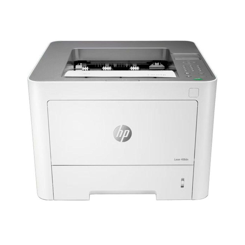 Impresora HP LaserJet M408DN Impresora BN 42 ppm -- DUPLEX Y RED , CICLO MAXIMO DE TRABAJO  HASTA 100.000 PAGINAS- VOLUMEN RECOMENDADO MENSUAL DE 1.500  A 3.000 PAGINAS INCLUYE GARANTIA 1 AÑO
