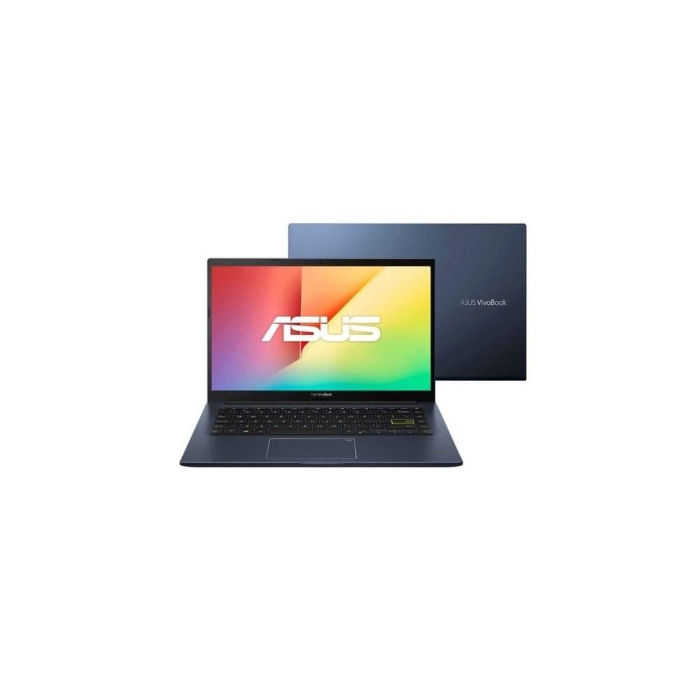 Portátil ASUS Vivobook  X413EA-EB377T Intel® Core™ i5-1135G7 Processor 2.4 GHz, 14 FHD, 8GB, 512 SSD,SO Windows 10 , Sin Unidad Óptica, Bespoke Black.