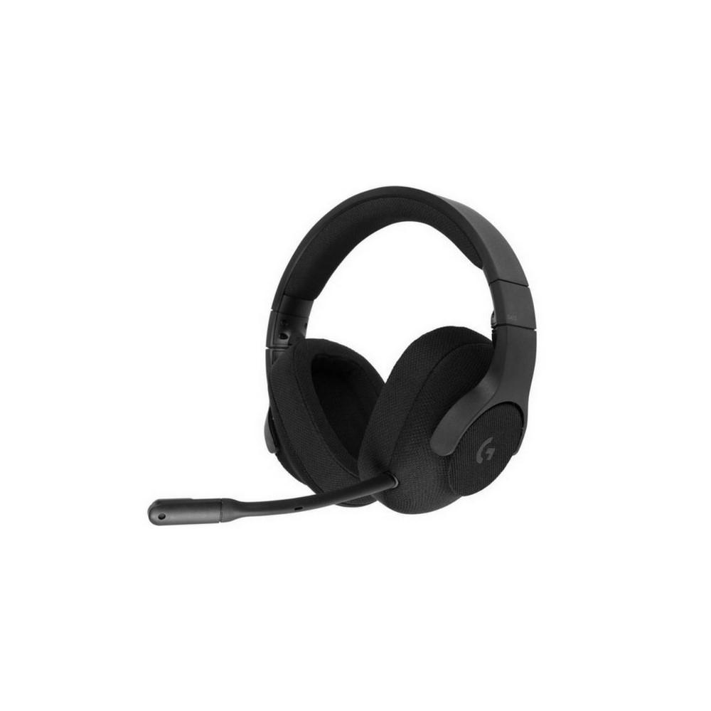 DIADEMA G433 Logitech Gaming Alámbrico Plug3.5mm/USB Multiplataforma Sonido 7.1 DTS HEADPHONE:X Micrófono Extraíble Cable 1.5Metros Garantía 2Años-NEGRO