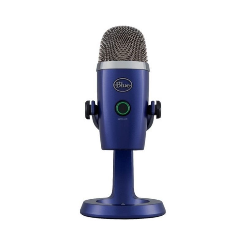 Microfono Usb Profesional Yeti Nano Vivid Azul