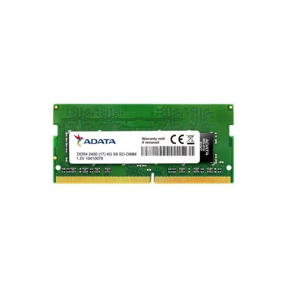 Memoria Ram Adata Ddr4, 2400Mhz, 4Gb, So-Dimm Para Portatil