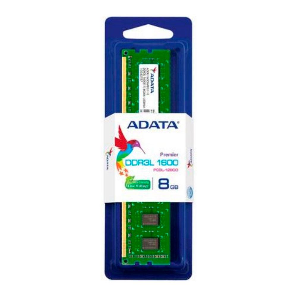 Memoria Ram Adata Pc Ddr3 8Gb 1600Mhz