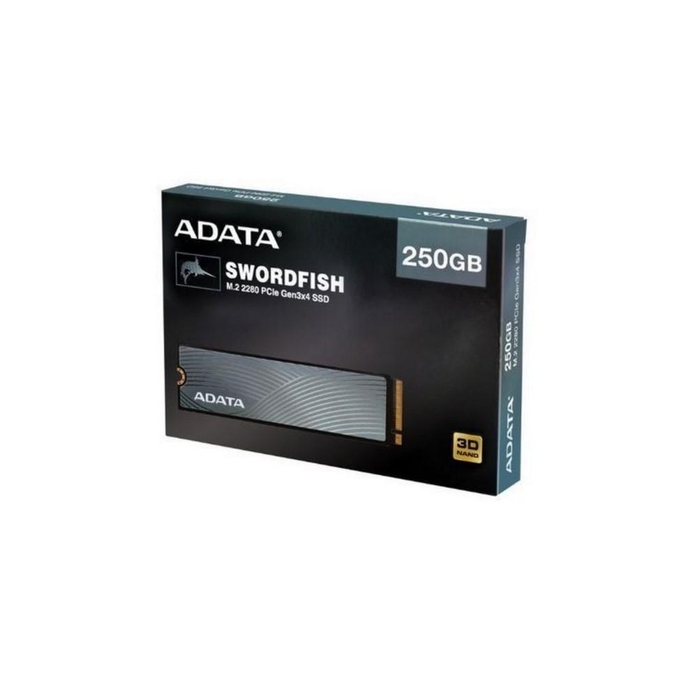 Unidad de estado Solido ADATA  PCIE 250GB Swordfish