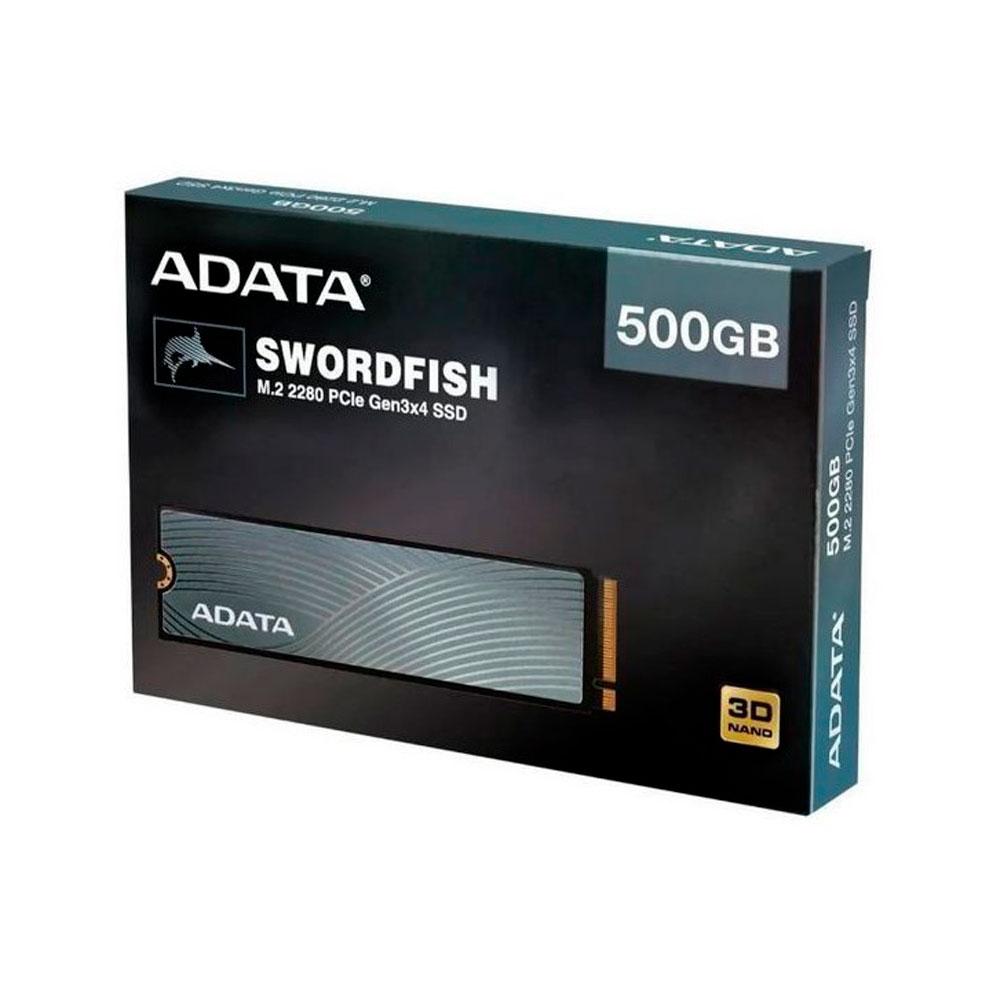 Unidad de estado Solido ADATA PCIE 500GB Swordfish