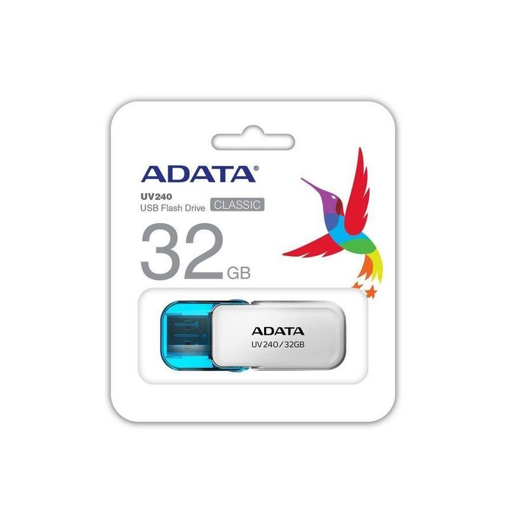 MEMORIA ADATA USB 2.0 UV240 ESCUALIZABLE 32GB BLANCA
