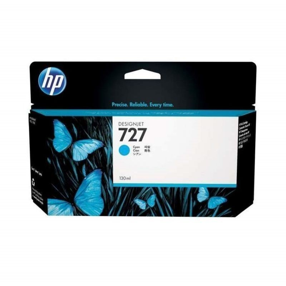 Cartucho de tinta HP 727 DesignJet cian de 130 ml