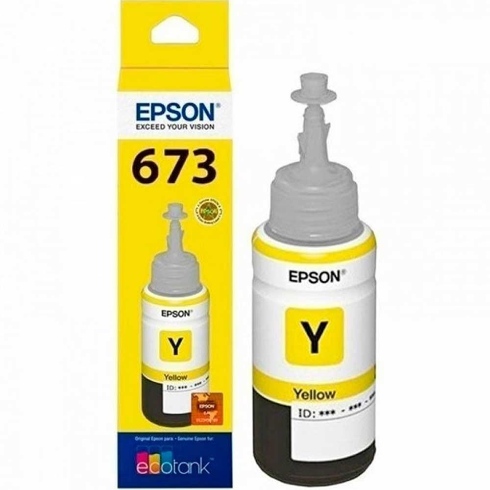 Botella Epson T673420-AL - ECOTANK Yellow L800/L805 (1800 fotos 10 x 15 cm)