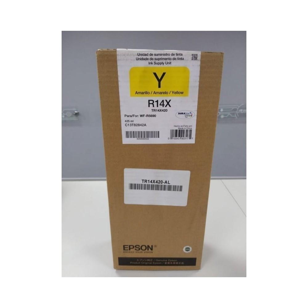 Bolsa De Tinta Epson Tr14X420-Al Amarillo 50.000 Paginas