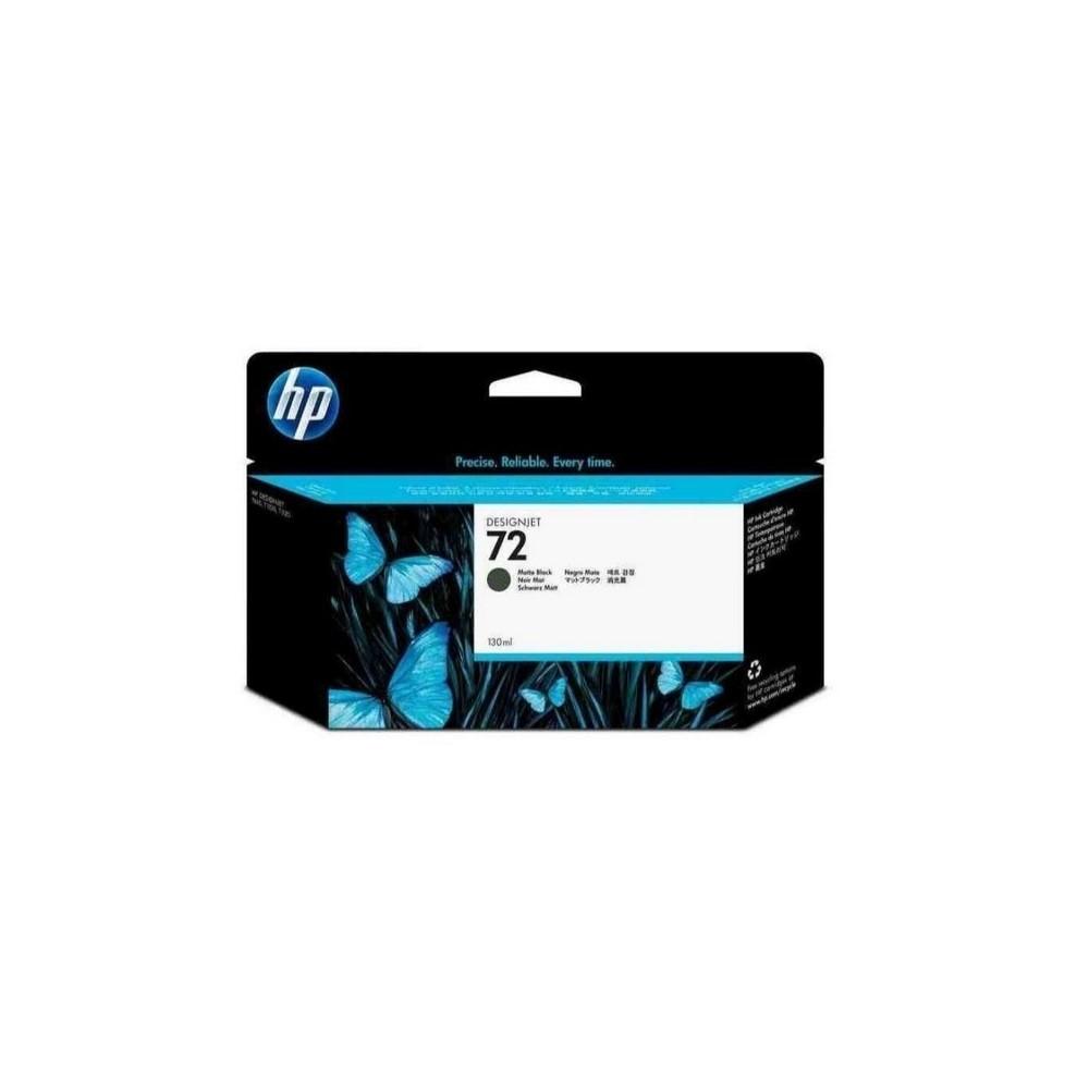 Cartucho de tinta DesignJet HP 72 de 130ml negro mate