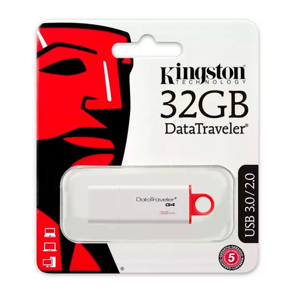 Usb kingston DataTraveler I G4 (White + Red) 3.0 32GB
