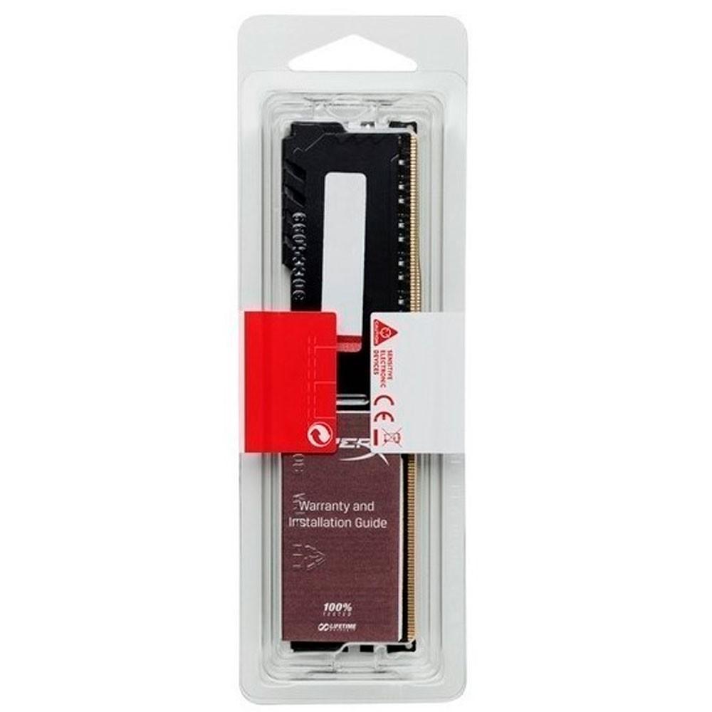 Memoria ram HyperX FURY Black para Pc 8GB DDR4 2666MHz