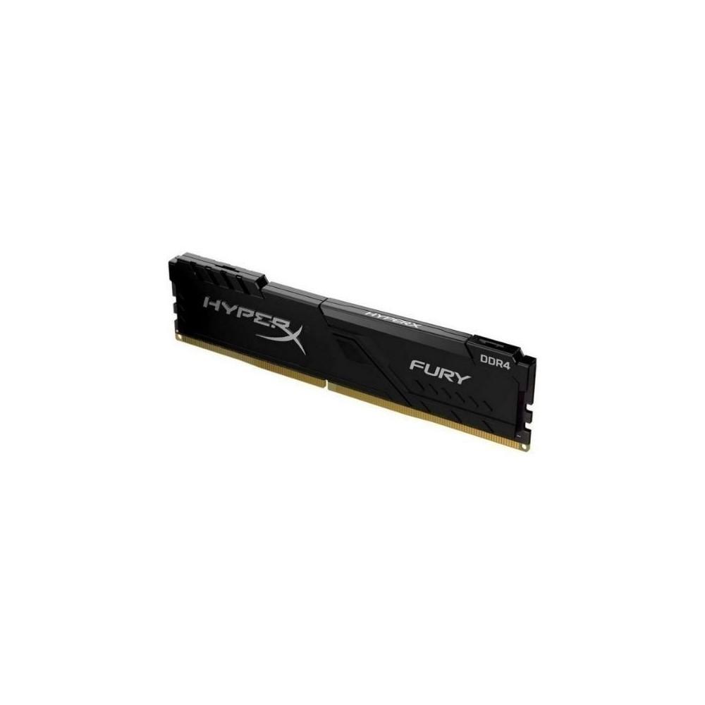 Memoria Ram  Pc Hyperx Fury Black Ddr4, 2666Mhz, 16Gb