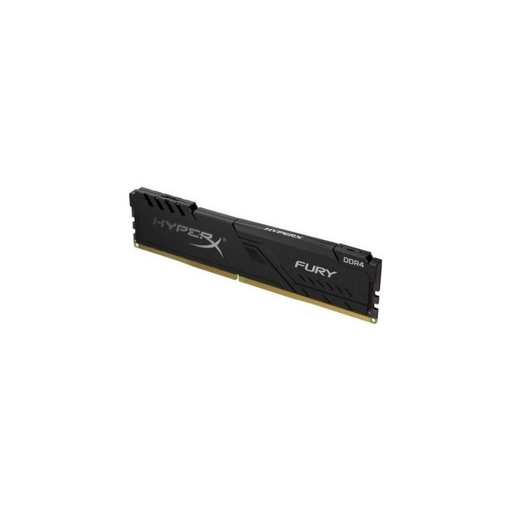 Memoria Ram  Para Pc Hyperx Fury Black Ddr4, 3200Mhz, 8Gb