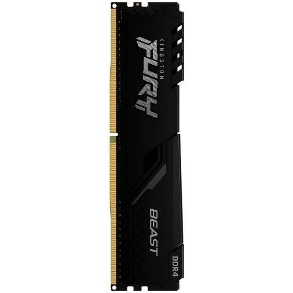 Memoria ram Kingston FURY Beast para pc 16GB DDR4 2666MHz Single Module