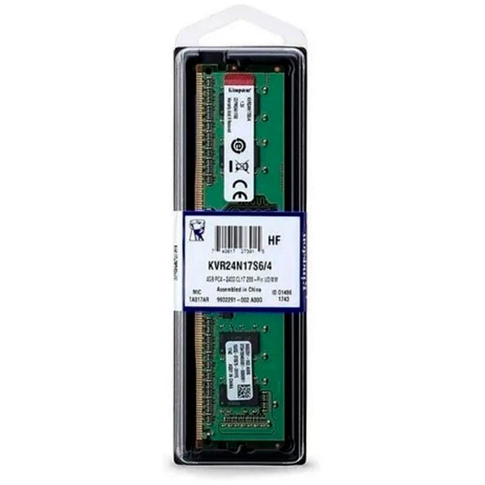 Memoria ram kingston para pc 4GB DDR4 2400MHz