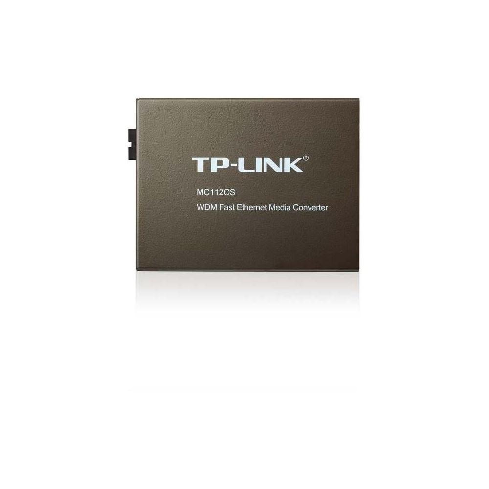 Convertidor Tp Link Mc112Cs Multimedia Wdm De 10 100Mbps