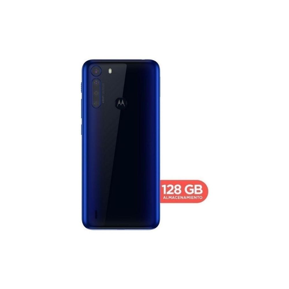Celular Libre Motorola One Fusion 128Gb Azul
