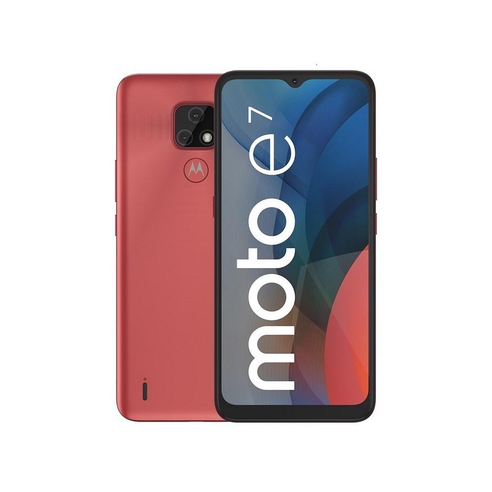Celular Libre Motorola Moto E7 32Gb Rosa Coral
