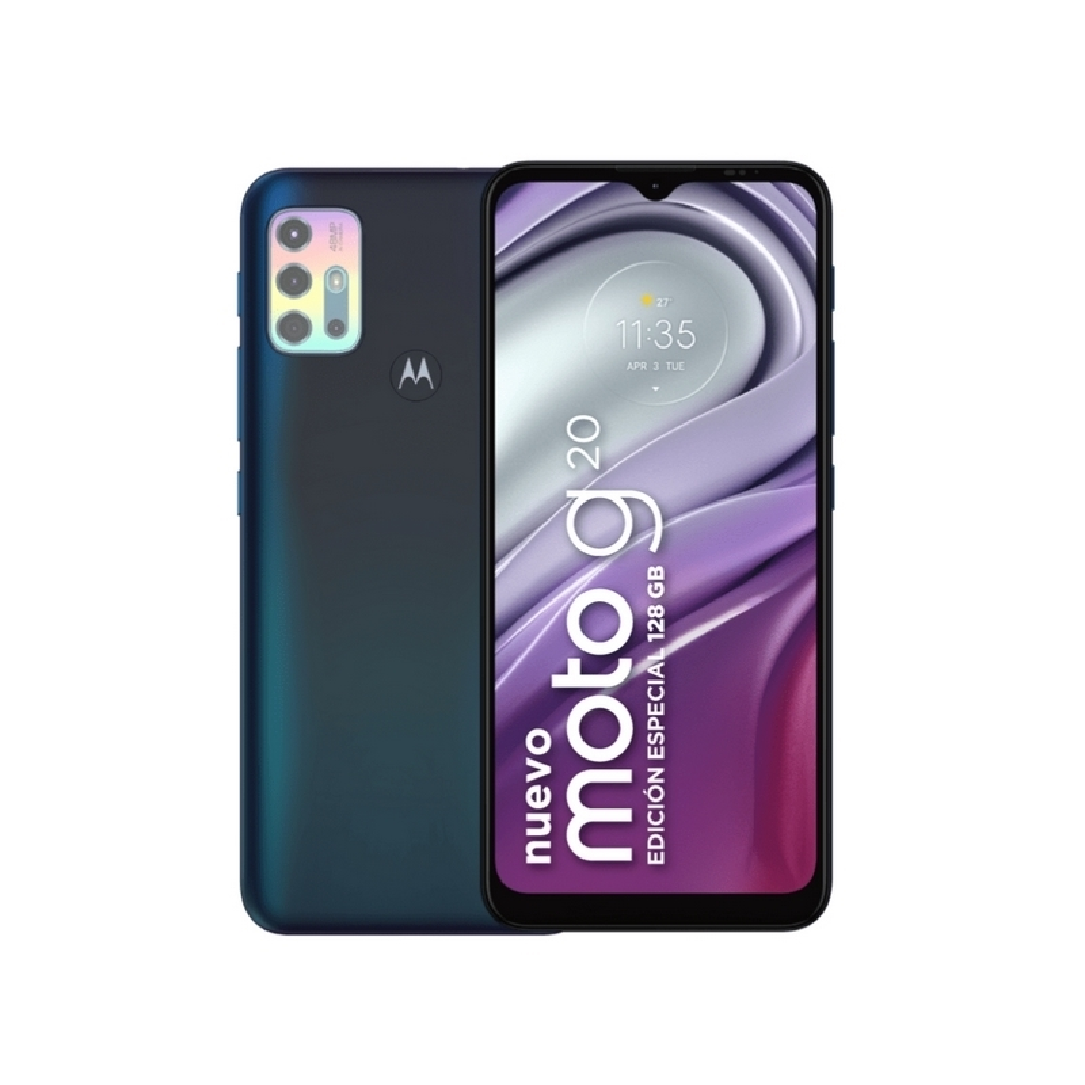 Celular Moto G20S Verde 128GB
