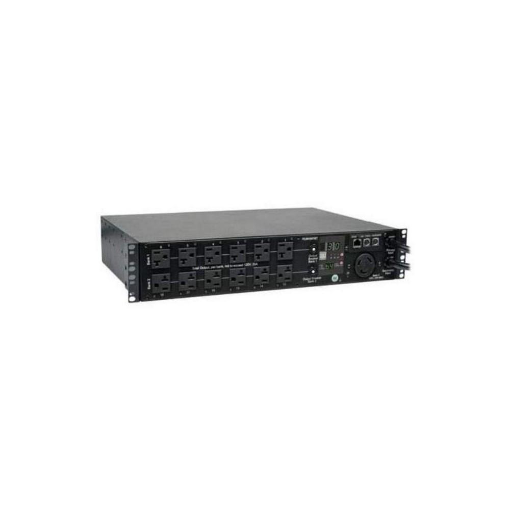 PDU Monofásico Controlable / Switch de Transferencia Automática, 2.9kW 30A 120V, Instalación Horizon