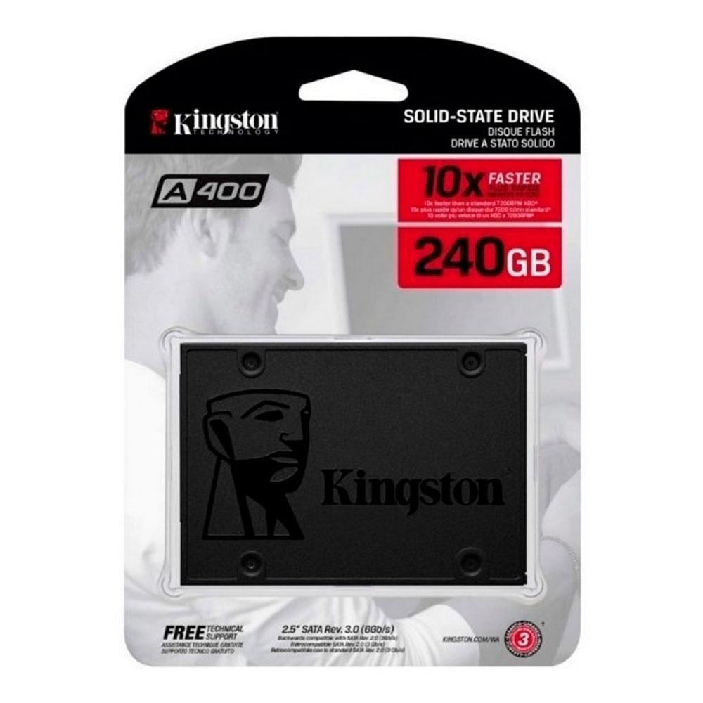 Unidad de estado solido ssd kingston A400 240GB 2.5