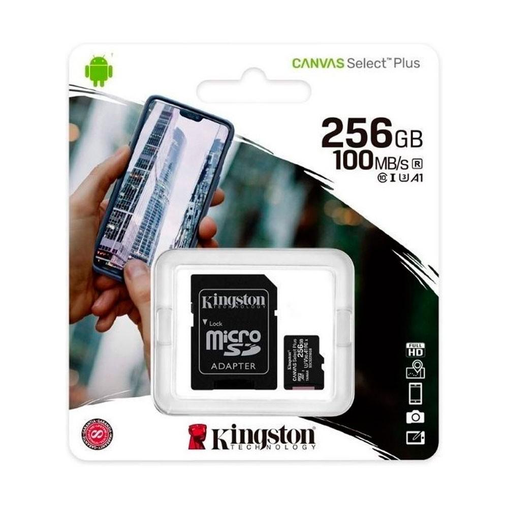 Micro sd kingston Canvas Select Plus 256GB