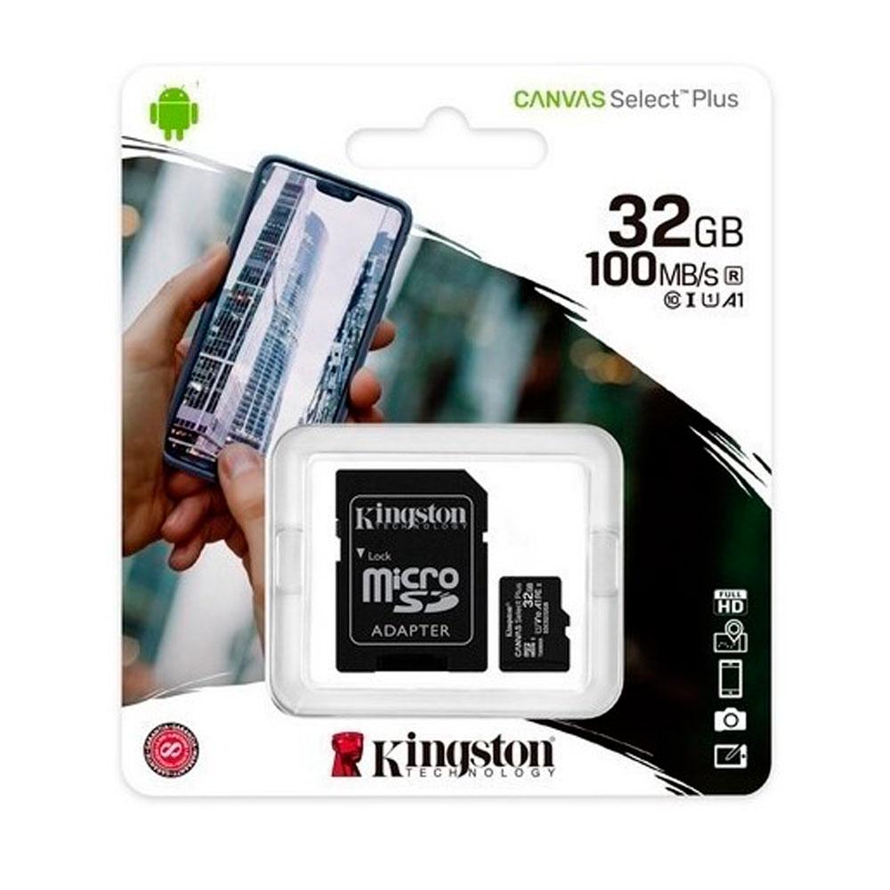 Micro sd kingston Canvas Select Plus 32GB