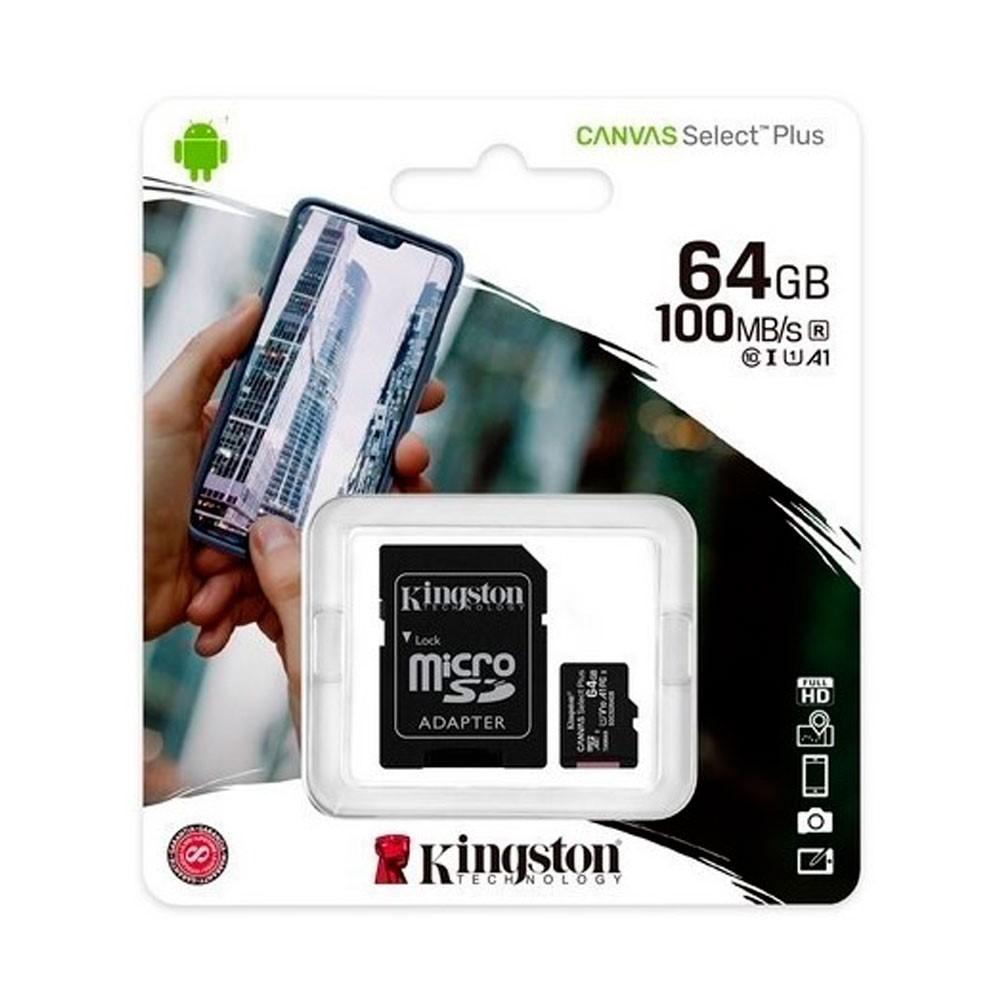 Micro sd kingston Canvas Select Plus 64GB