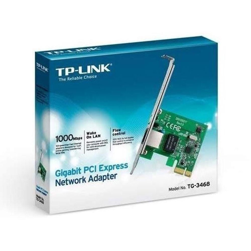 Adaptador de Red TPLINK PCI-Express Gigabit