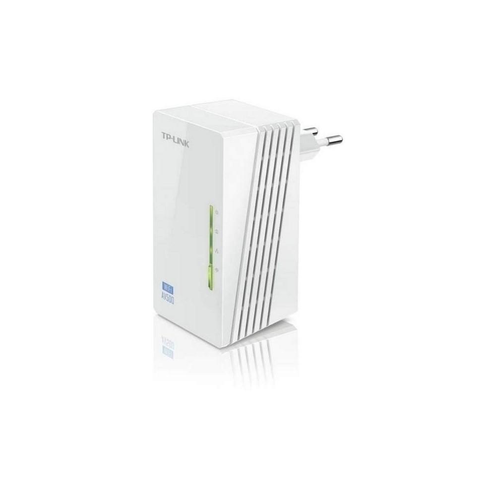 Extensor Inalambrico TPLINK 300Mbps, AV500, Transferencia de Datos Powerline 500Mbps, 2 Puertos Fast Ethern