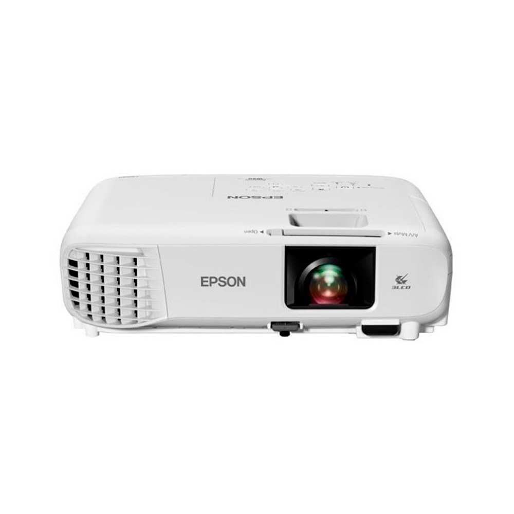 Video Proyector Epson PowerLite W49/ Tecnología: 3LCD de 3 chips/ (3.800 lumens en Blanco y Color - Resolución  WXGA)