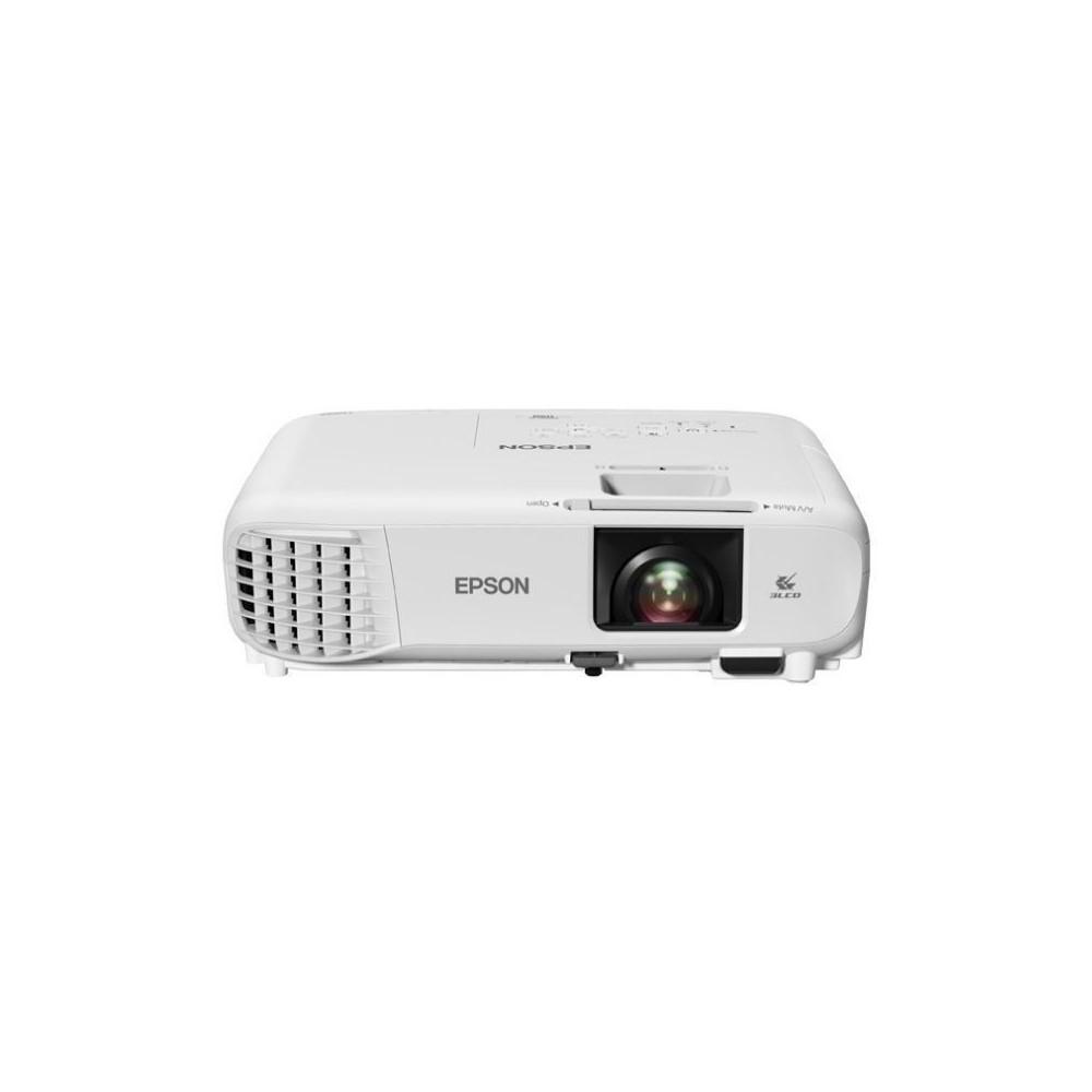 Video Proyector Epson PowerLite 119W/ Tecnología: 3LCD de 3 chips/ (4.000 lúmenes en Blanco y Color - Resolución   WXGA)  RJ45