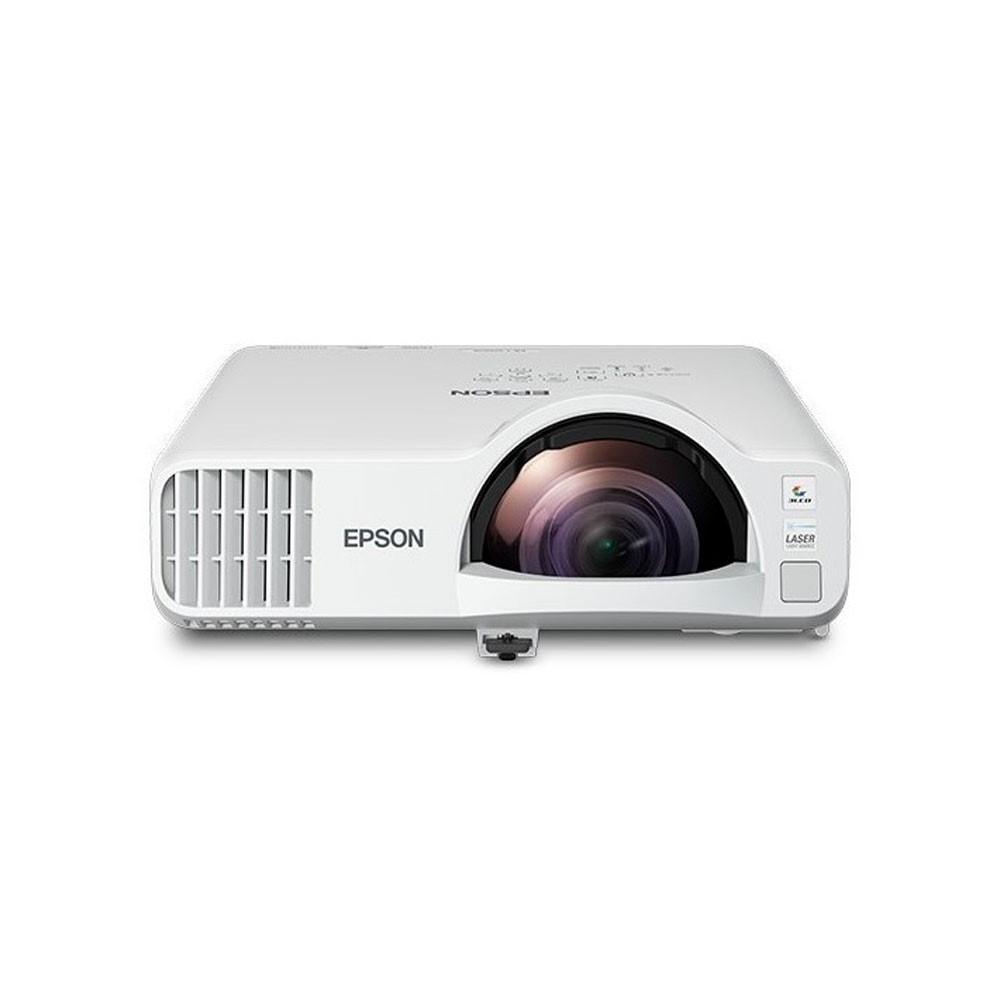 Videoproyector Epson PowerLite L200SW Láser Tiro Corto /Tecnología: 3LCD de 3 chips/3.800 lúmenes en Blanco y Color -Resolución WXGA 1280 x 800(HD)  (proporciona soporte inalámbrico y Miracast® integrado), Fuente de luz láser de 20.000 horas sin lámparas